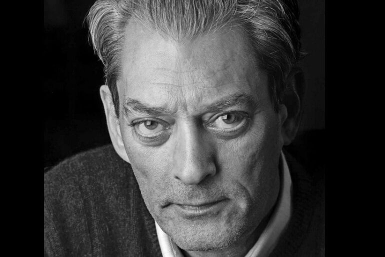 Paul Auster © Lotte Hansen